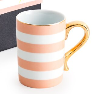 Good Cheer Stripe Travel Mug