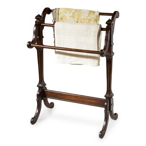Plantation Cherry Quilt Rack by Astoria Grand