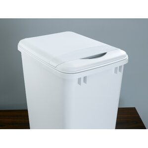 plastic lid 875 gallon trash can