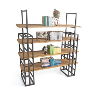 Johns 4 Tiered Etagere Bookcase by 17 Stories Cool