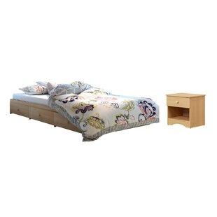 Brook Hollow Full Platform Configurable Bedroom Set by Red Barrel Studio