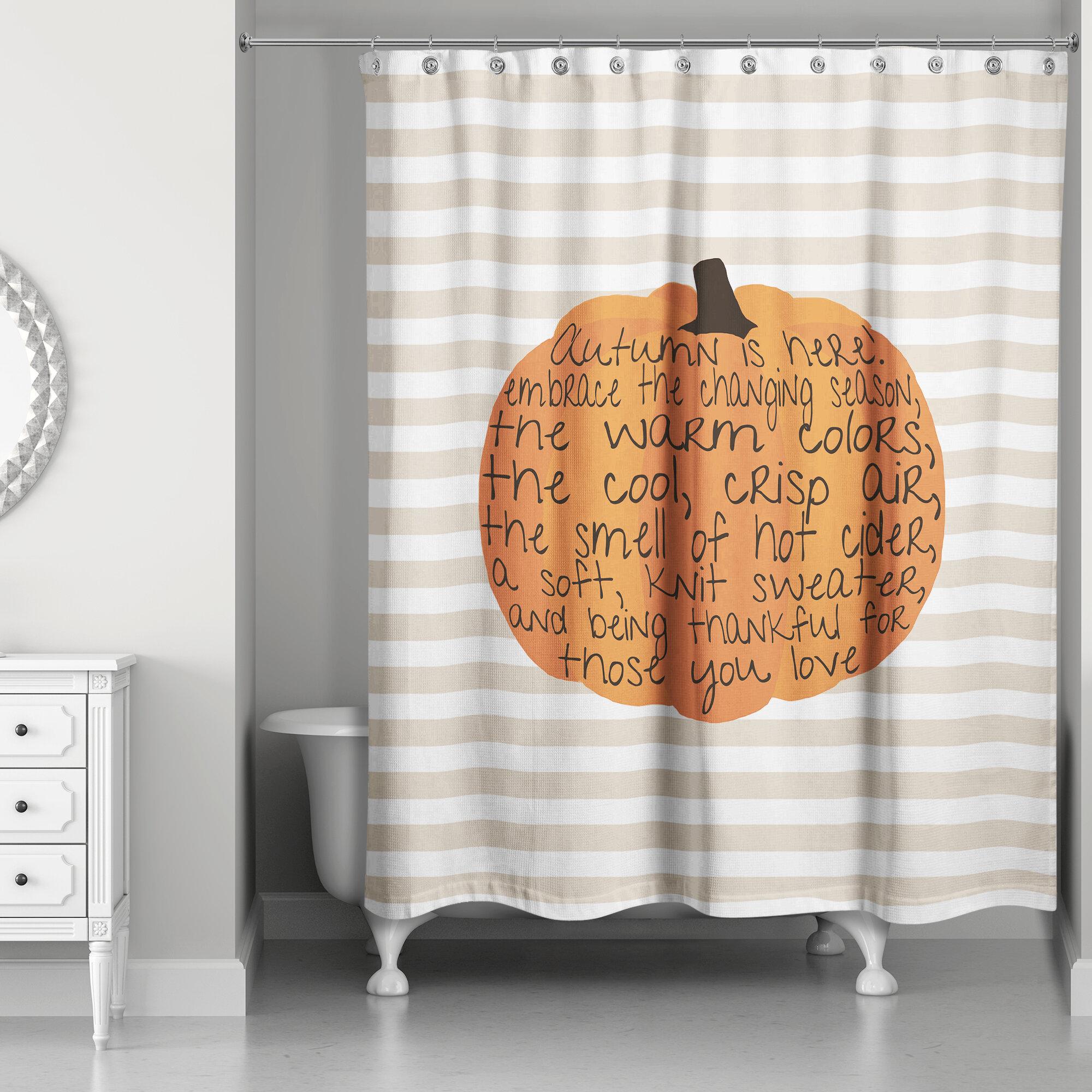 High Quality The Holiday Aisle Embrace Autumn Shower Curtain U0026 Reviews | Wayfair
