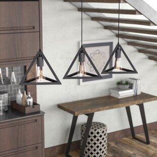 Brayden Studio Merriam 3-Light Kitchen Island Pendant
