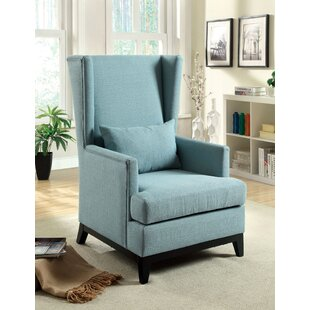 Amory Wingback Chair by Hokku Designs Best Design