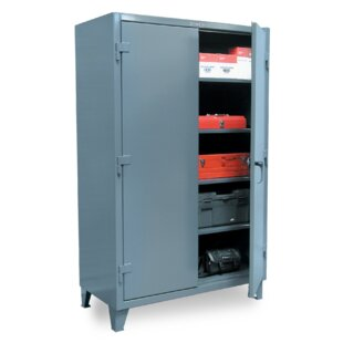 78H x 36W x 20D 2 Door Storage Cabinet by Strong Hold Products