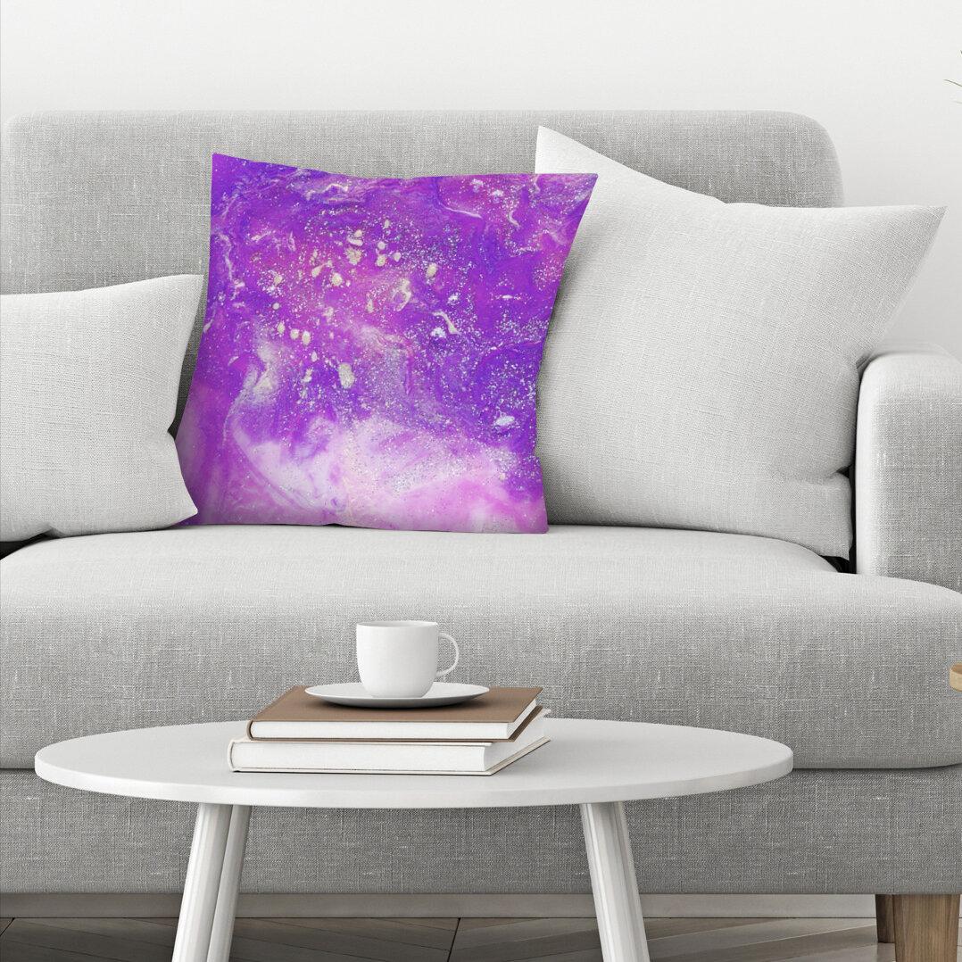 East Urban Home Ashley Camille Glitter Throw Pillow Wayfair