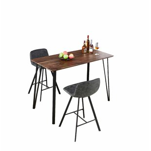 Adlai 3 Piece Pub Table Set by 17 Stories