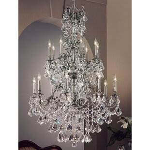 Classic Lighting Majestic Imperial 16-Light Candle Style Chandelier