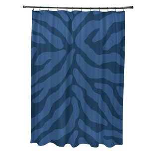 Bloomsbury Market Kam Animal Print Shower Curtain