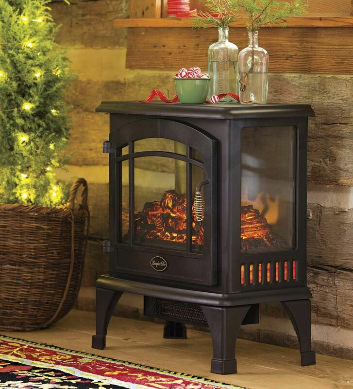 Plow & Hearth 1,000 sq. ft. Vent Free Electric Stove & Reviews ...