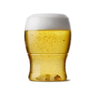 Pint Mini - Recyclable Beer Plastic Glass Everyday (Set of 48)