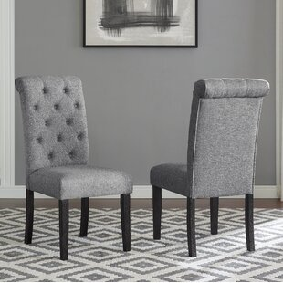 Evelin Upholstered Dining Chair (Set of 2) Charlton Home