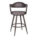 Adelita Bar & Counter Swivel Stool by Ivy Bronx