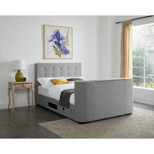 Kaniel Upholstered TV Bed By Brambly Cottage