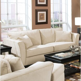 Shop Brette Upholstered Sofa by House of Hampton