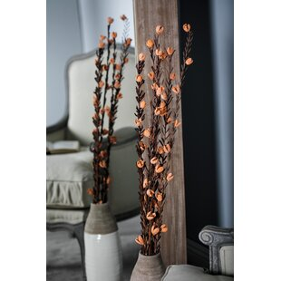 Dried Plant Decorative Stick Floral Arrangement (Set of 4)
