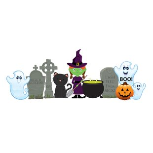 Witch and Ghosts Standup by Advanced Graphics