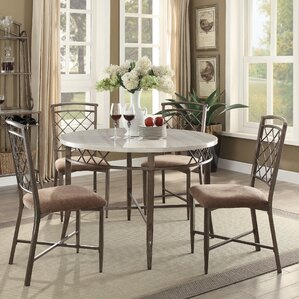 Aldric 5 Piece Dining Set by ACME Furn..