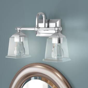 Charlton Home Tilford 2 Light Dimmable Vanity Light Wayfair