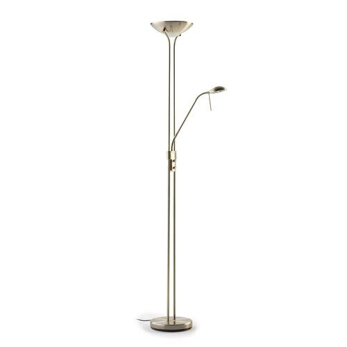 25 cm Deckenfluter Eliana Metro Lane Gestellfarbe: Antikes Messing | Lampen > Stehlampen > Deckenfluter | Metro Lane