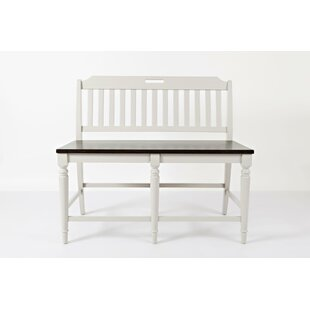 Tiffany Counter Height Wood Bench