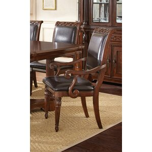 Lively Genuine Leather Upholstered Dining..