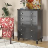 Rae 5 Drawer Chest by Three Posts™