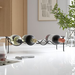 4 Bottle Tabletop Wine Rack by Rebrilliant