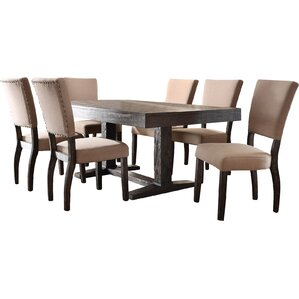 Isabella 7 Piece Dining Set by Infini Fur..