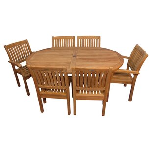 Jackson 7 Piece Teak Dining Set