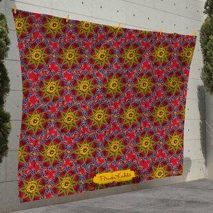 Mandala Roses Picnic Blanket By Latitude Vive
