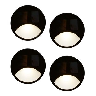 Review Gallager 1 Light LED Pathway Light (Set Of 4) (Set Of 4)