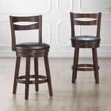 Sherryl 26 Swivel Bar Stool (Set of 2) by Wrought Studio™