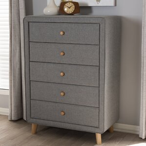 Tito 5 Drawer Chest by Wholesale Interiors