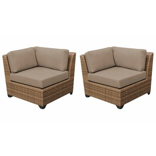 Medina Patio Chair with Cushions (Set of 2)