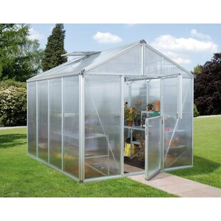 Zeus 2.6m W X 3.1m D Greenhouse By WFX Utility