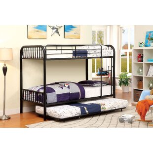 A&J Homes Studio Cadee Twin over Twin Bunk Bed