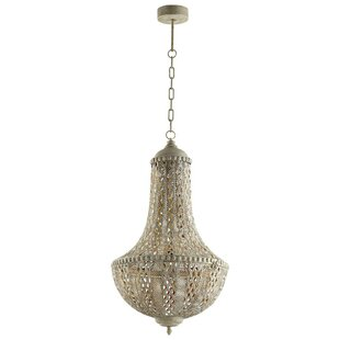 Bollman 2-Light Empire Chandelier by Bungalow Rose