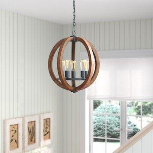 Orly 5-Light Globe Chandel..