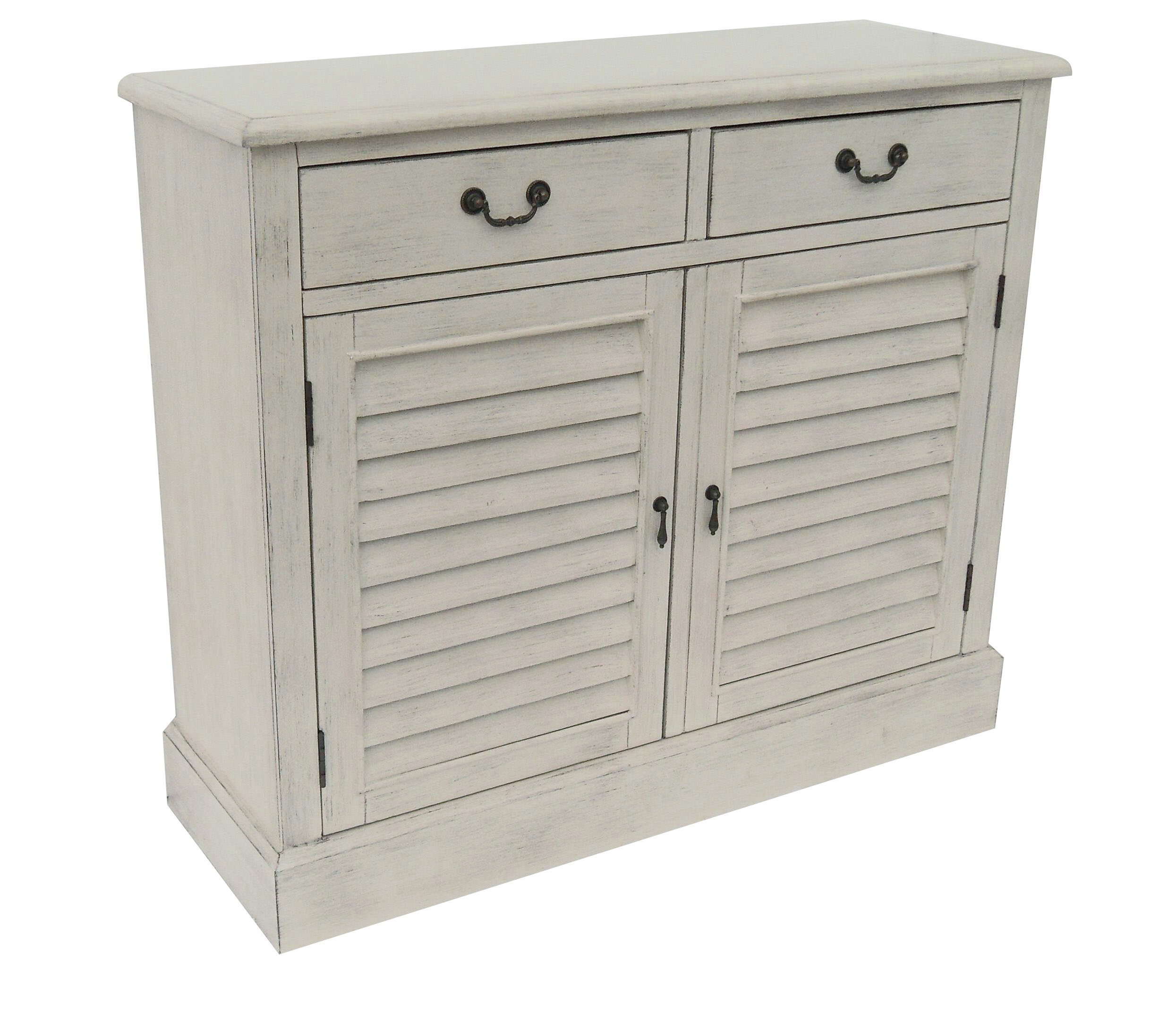 2 Door 2 Drawer Shetter Cabinet