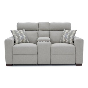 Ebern Designs Reclining Home Theater Loveseat