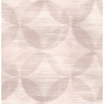 Gilley 33' L x 20.5'' W Wallpaper Roll Red Barrel Studio Color: Blush