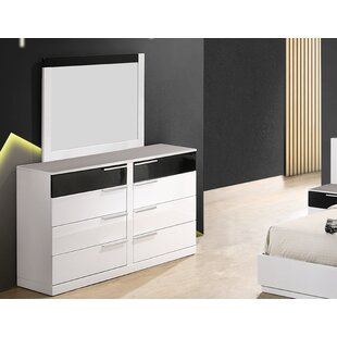 Fleeton Bedroom Standard Dresser with Mirror