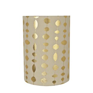 Where buy  Transitional Spider 8 Fabric Drum Lamp Shade By George Oliver