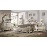 Staats Upholstered 4 Piece Configurable Dresser Set by Astoria Grand