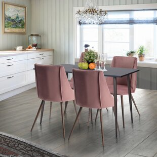 Throckmorton 5 Piece Dining Set Great price