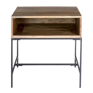 Affordable Shery End Table by Union Rustic