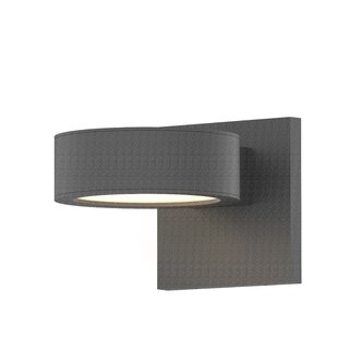 Algarin 1-Light LED Outdoor Armed Sconce By Latitude Run Outdoor Lighting