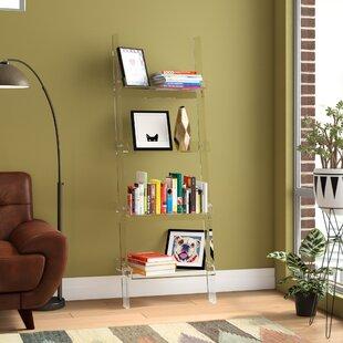 Light Wood Leaning Bookcase Wayfair