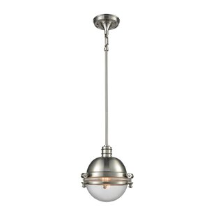 Breakwater Bay Aquila 1-Light Globe Pendant